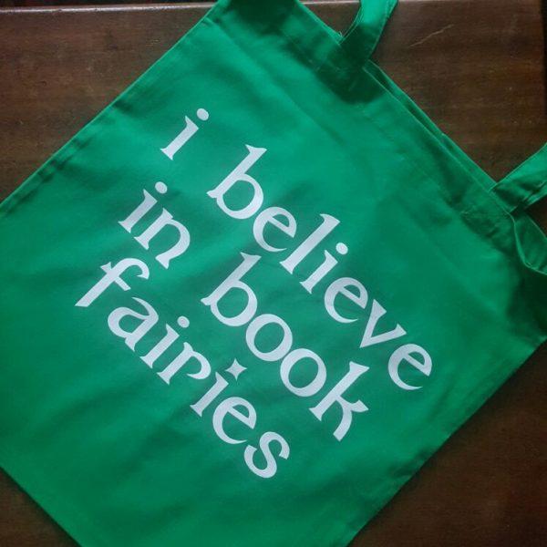 Bags The Book Fairies green
