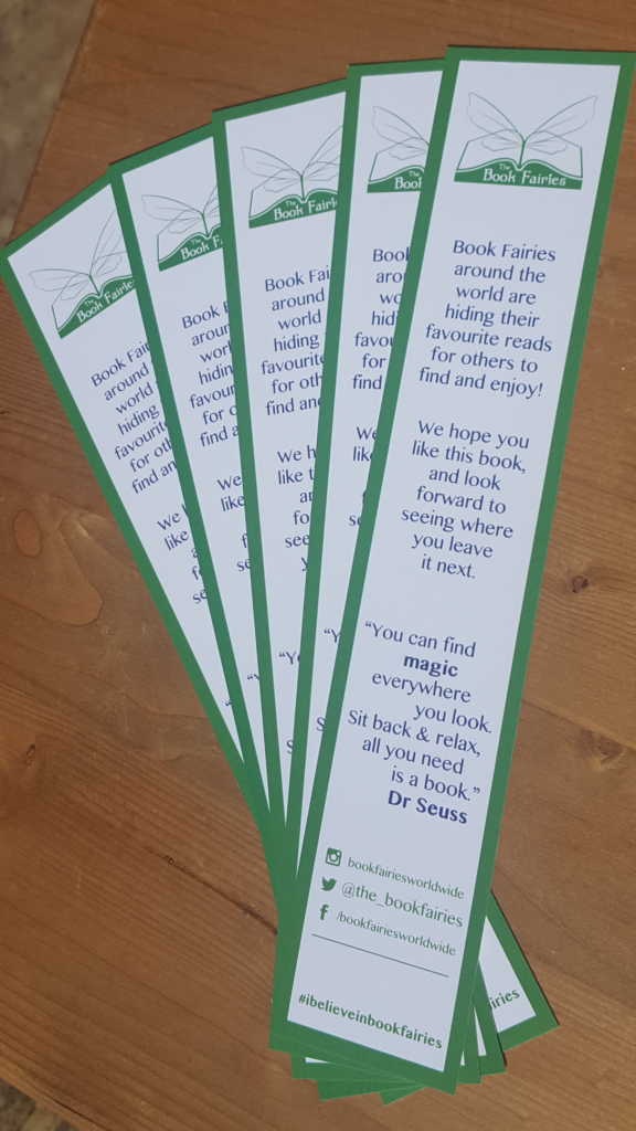 book fairies bookmarks