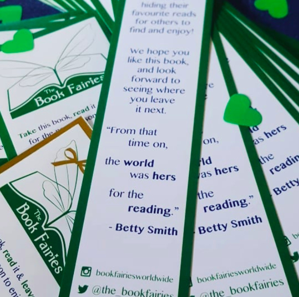 book fairy bookmarks betty smith quote