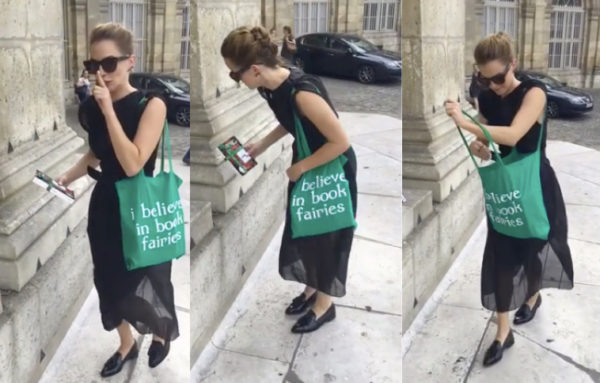 emma watson is a book fairy