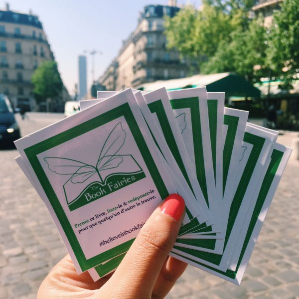 French stickers from The Book Fairies