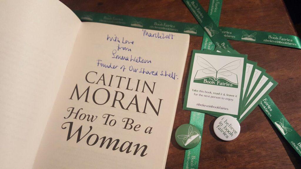 Emma Watson signed caitlin moran book