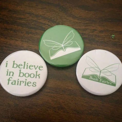 book fairy badge bundle