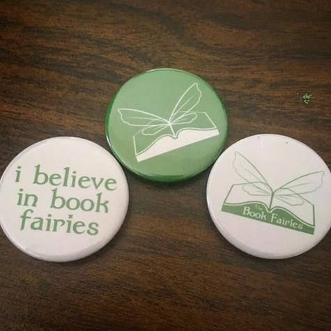 book fairy badge bundle