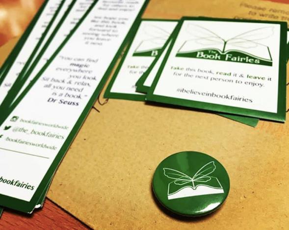 badge for book fairies