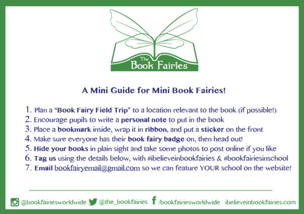 mini book fairies in school