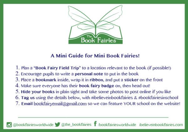 mini book fairies in school