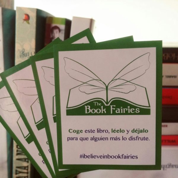 español book fairy stickers spanish
