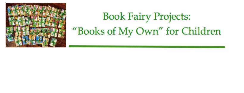 book fairy project - books are my own