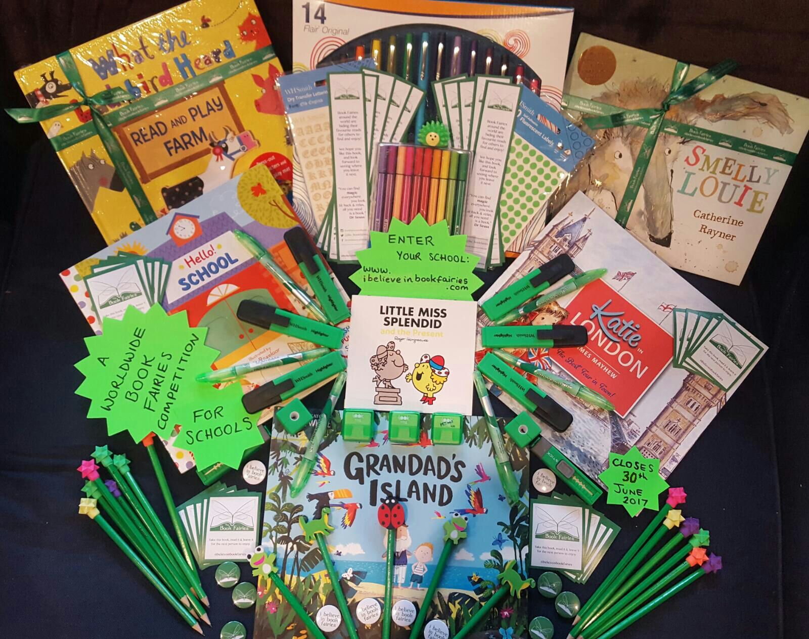 the book fairies: a competition for schools! – the book fairies