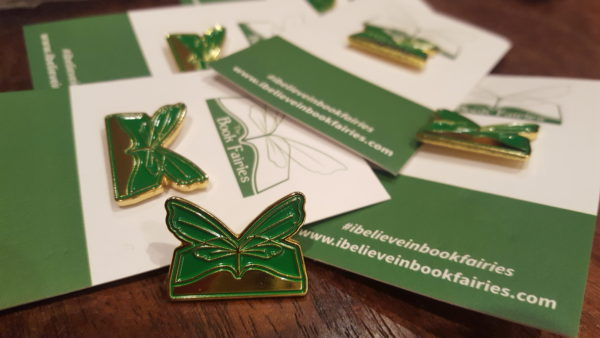 book fairies enamel pin badge