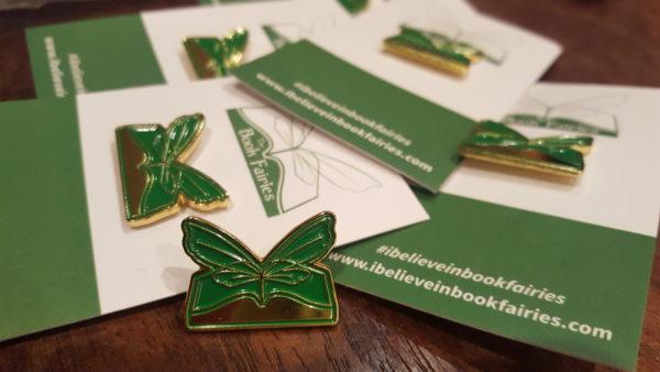 book fairies enamel pin badge