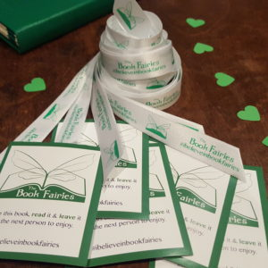 ribbons white book fairies