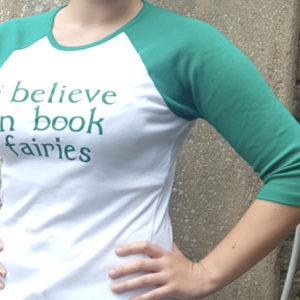 t shirt book fairies