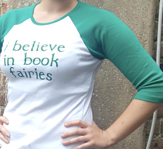 t shirt book fairies