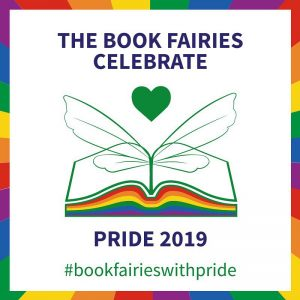 Pride stickers from The Book Fairies