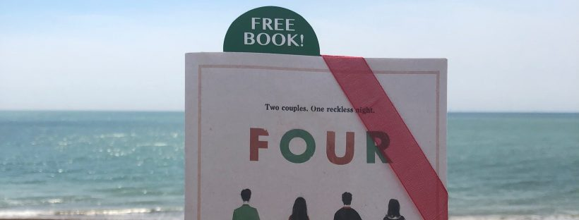 Andy Jones' new novel FOUR is hidden in Brighton and London
