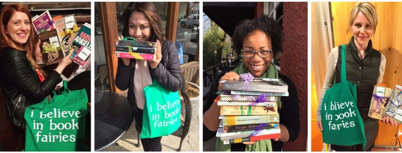 Some Vancouver authors became book fairies for the day