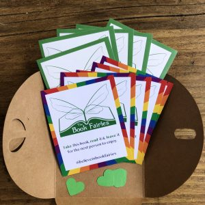 pride stickers for book fairies