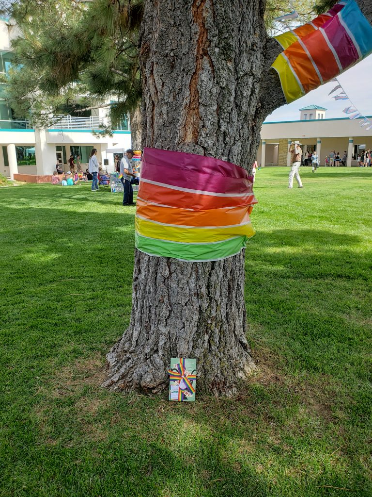 Book Fairies in New Mexico Pride