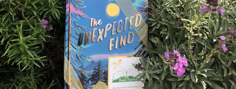 Book hidden by book fairies