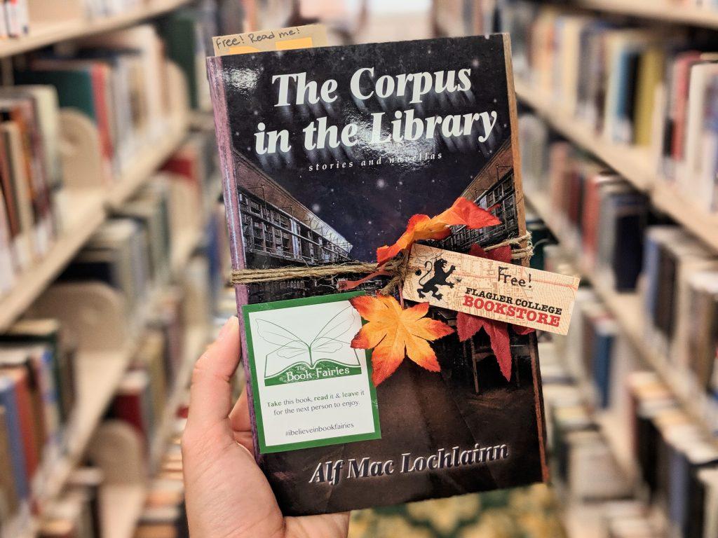 Book Fairies hide books around a Florida College Campus! – The Book