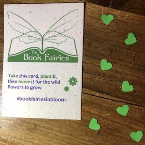 The Book Fairies seed paper for wild flowers