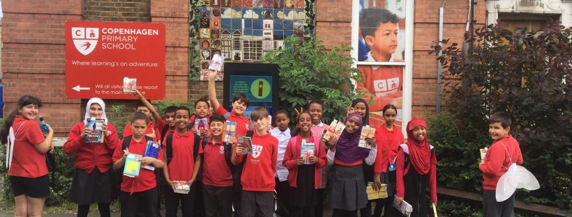book fairies at a primary school in London