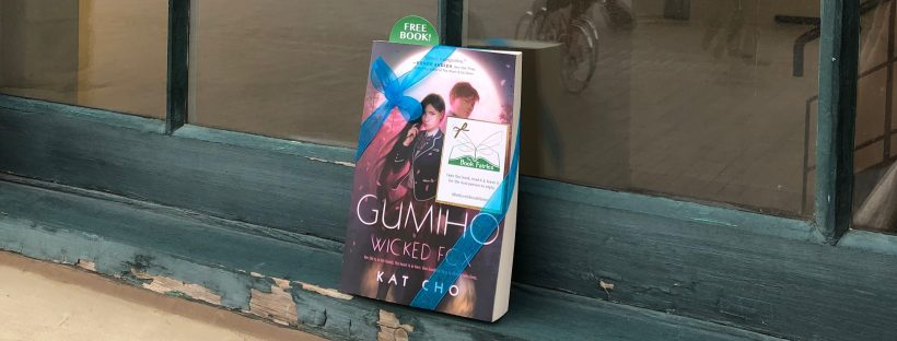 a copy of Gumiho published by Penguin Random House was hidden by The Book Fairies