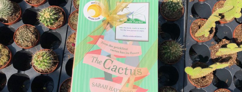 The Book Fairies hide copies of The Cactus