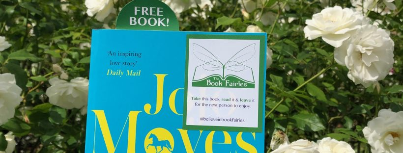 jojo moyes' book The Horse Dancer is hidden by book fairies in london