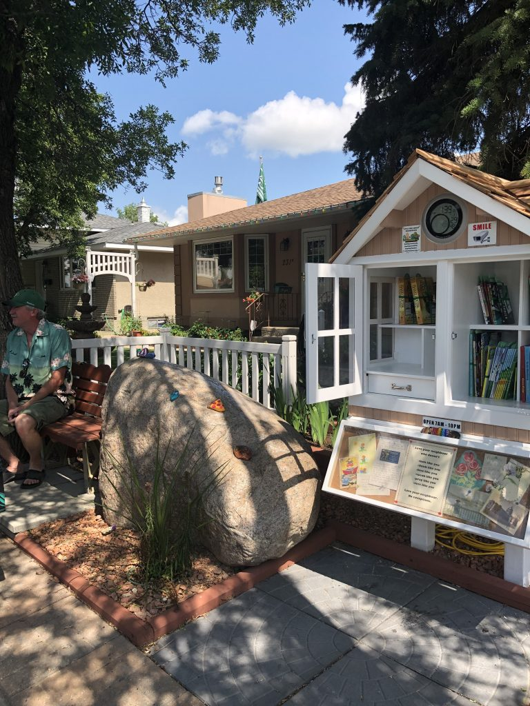 new little free library in Saskatchewan