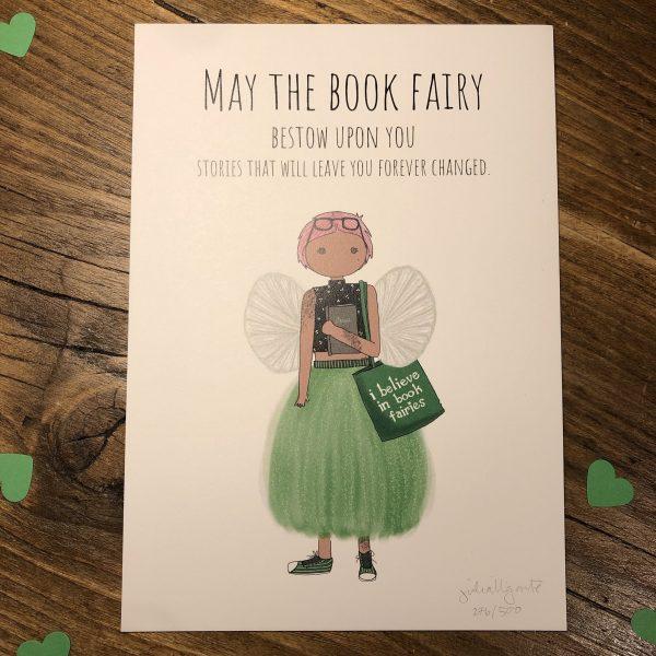 book fairy print