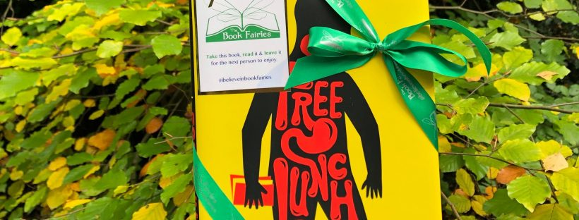 UK book fairies hid Free Lunch by Rex Fogle