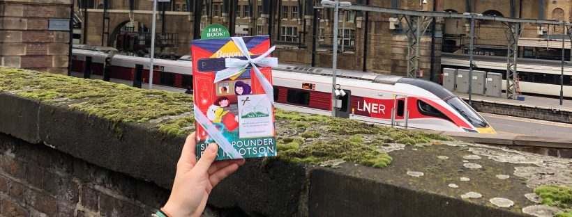 the book fairies hide books at kings cross station