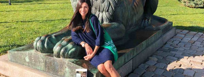 author in bulgaria meets book fairies to hide her books