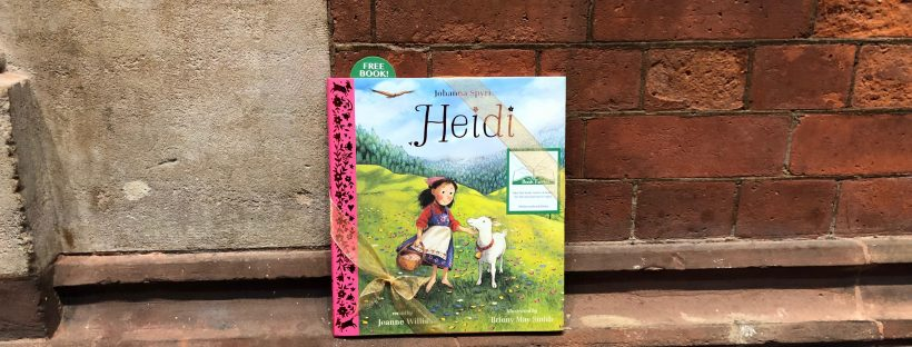 heidi hidden in the uk by book fairies and published by Nosy Crow