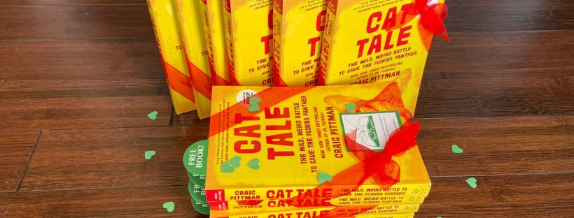 the book fairies hide copies of Cat Tale in the USA