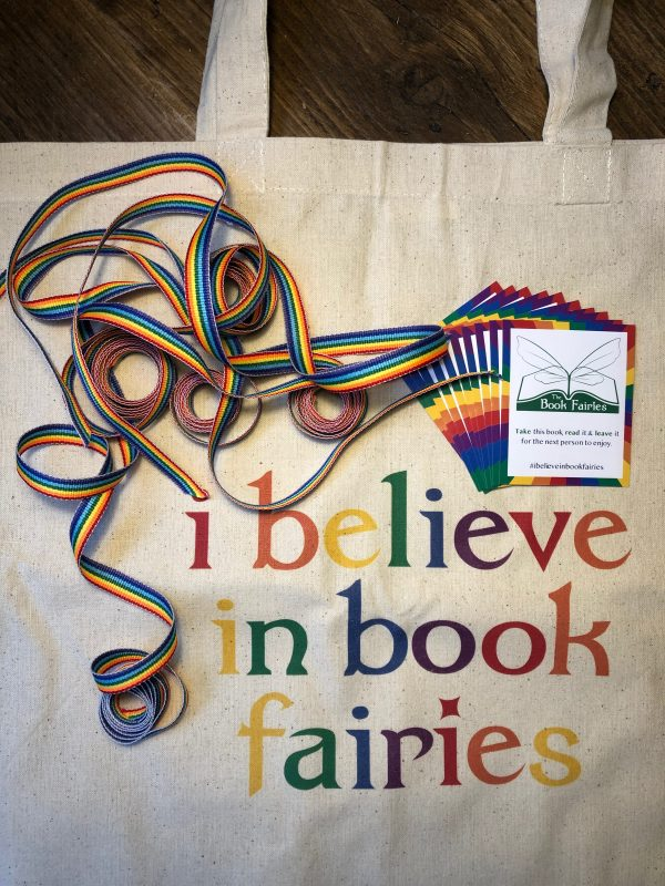 pride book fairy bundle for hiding books by LGBTQ+ authors