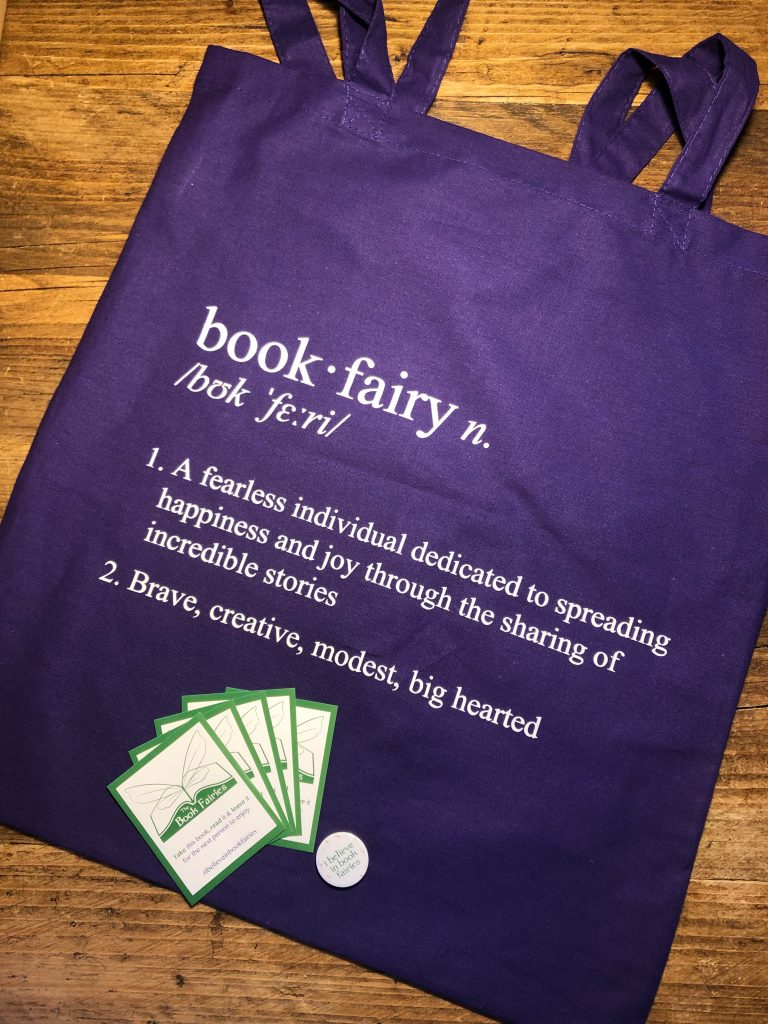 book fairy birthday purple tote bag released march 2020