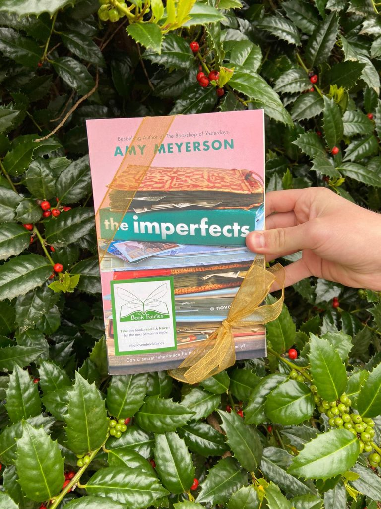 the imperfects by amy meyerson is given away by the book fairies