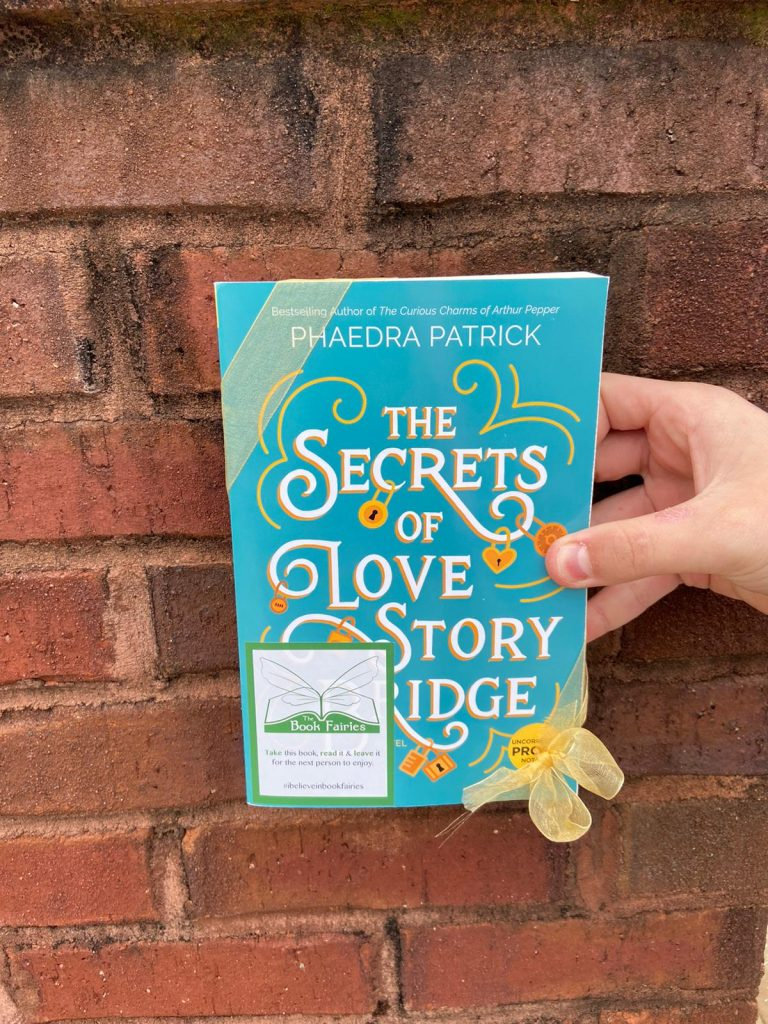 book fairy US giveaway during lockdown for the new novel from phaedra patrick