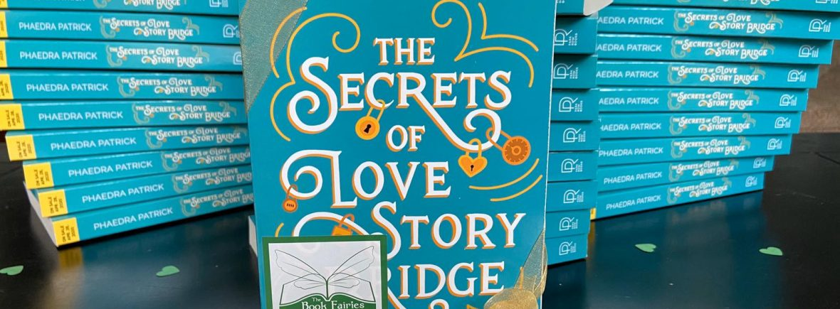 The Book Fairies give away paperback copies of The Secrets of Love story Bridge