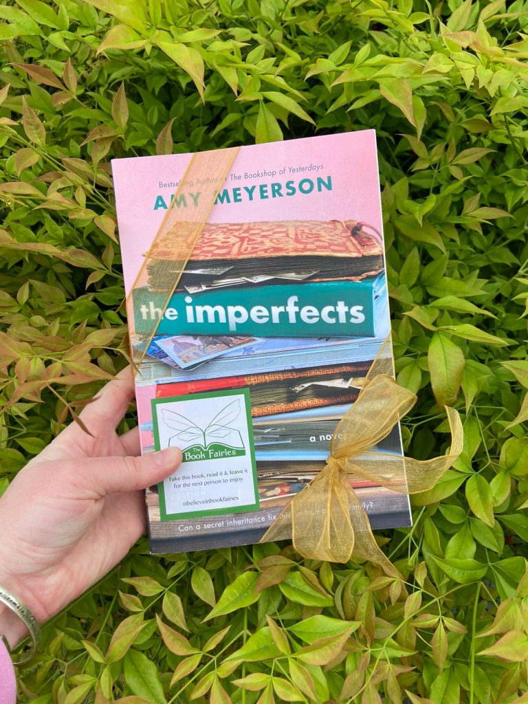 amy meyerson book the imperfects is given away by the book fairies usa