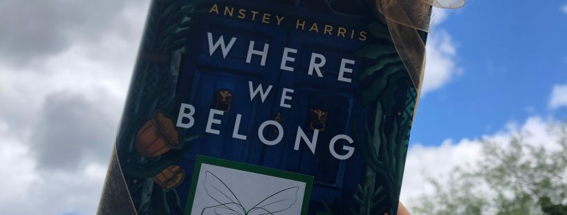 anstey harris new book where we belong sent by the book fairies