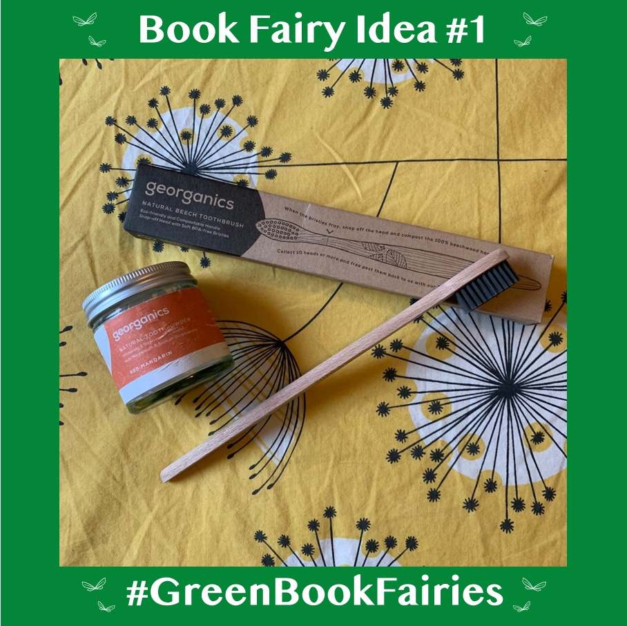 green book fairies for plastic free july - teeth