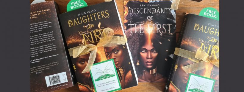 daughters of nri by reni k amayo hidden by book fairies in the UK