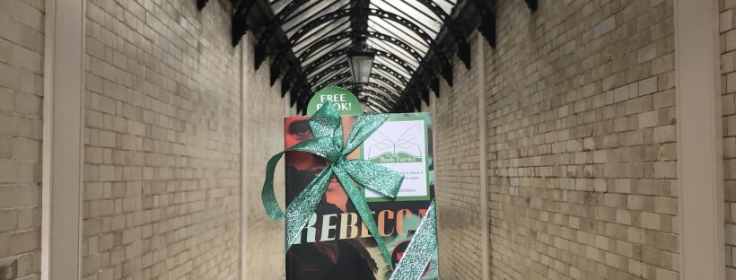 Rebecca by Daphne du Maurier hidden by Book Fairies to mark the film release on Netflix