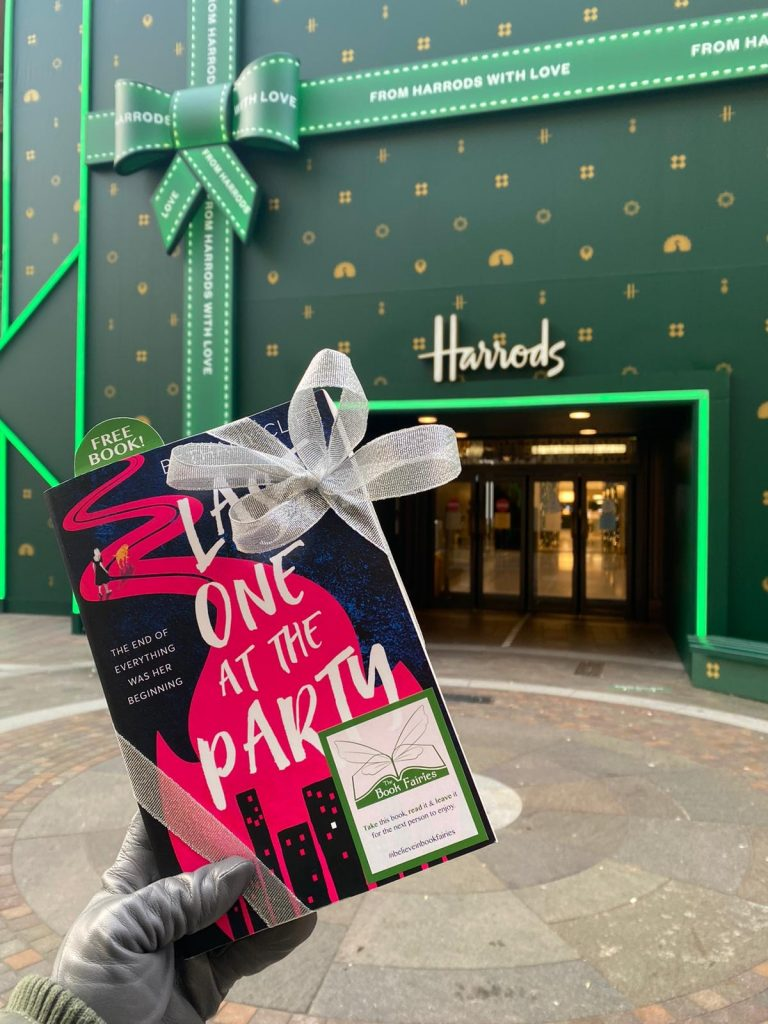 harrods London is a place the book fairies hid Last One At The Party