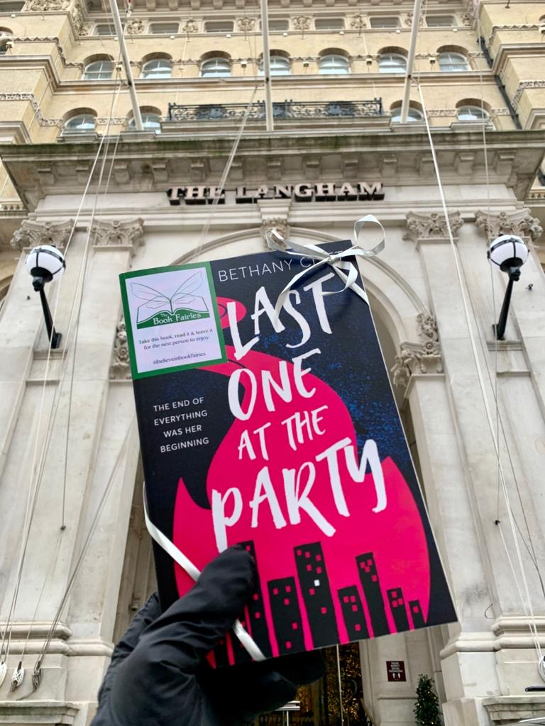 Langham Hotel London is another place The Book Fairies left a copy of Last One At The Party